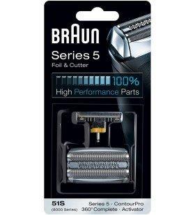 51S Series 5 (plateado) Braun